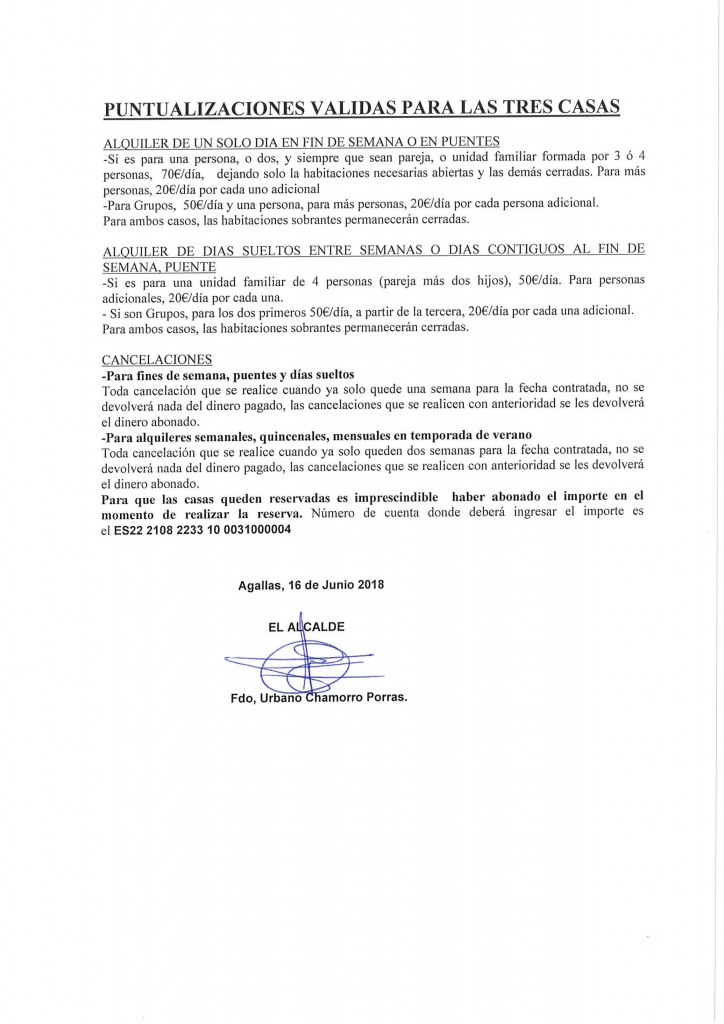 TARIFAS ACTUALES CASAS AYTO-2