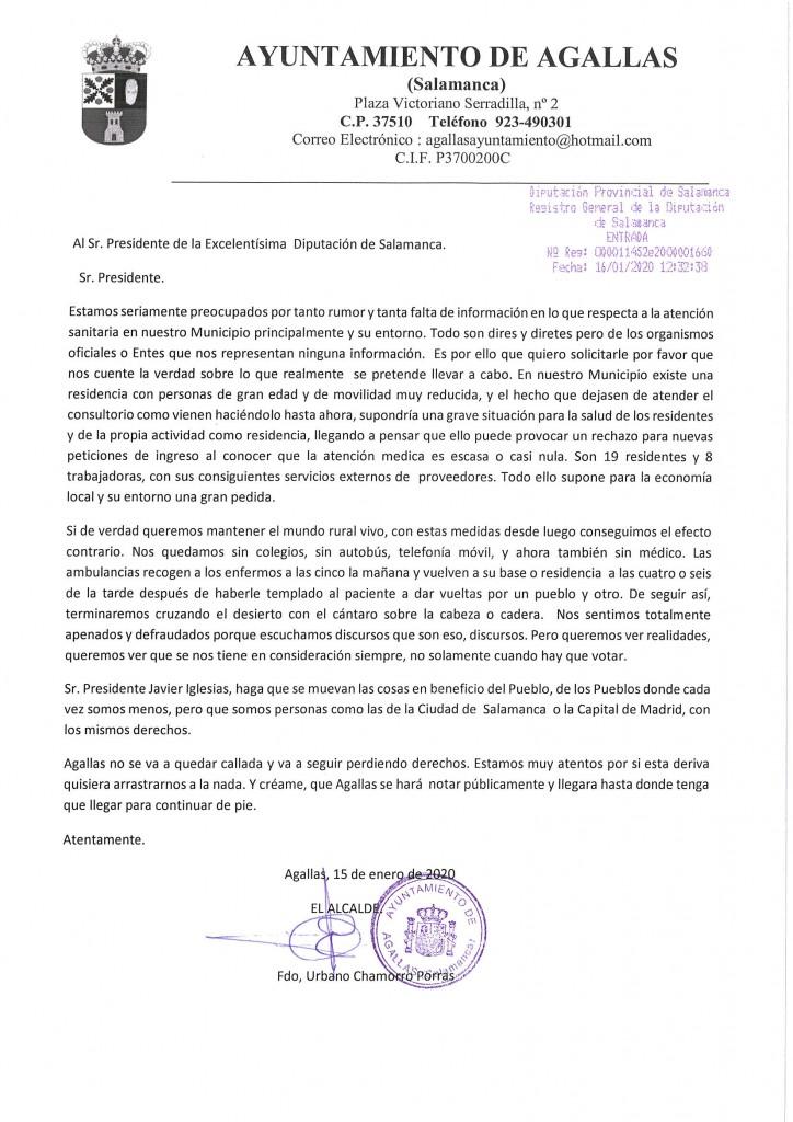 AL SR. PRESIDENTE DE LA DIPUTACION SA.15.01